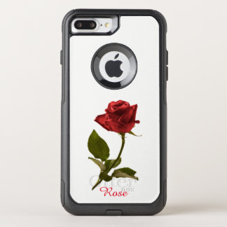 Red Rose Floral Photography Cut Out Flower OtterBox Commuter iPhone 8 Plus/7 Plus Case