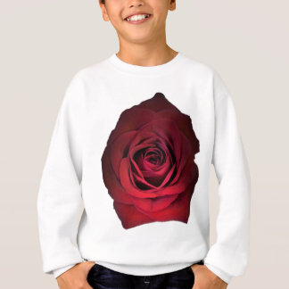 RED ROSE FLOWER SWEATSHIRT