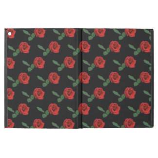 Red Rose Flowers iPad Pro Case