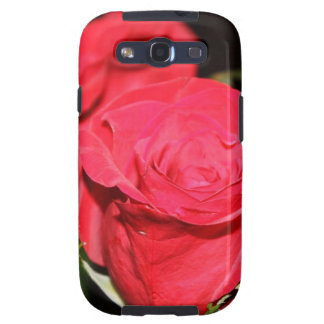 Red Rose Galaxy SIII Cases