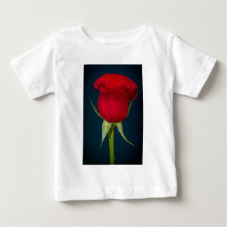 Red Rose Image Baby T-Shirt