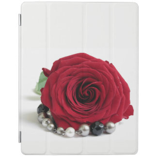 red rose iPad cover