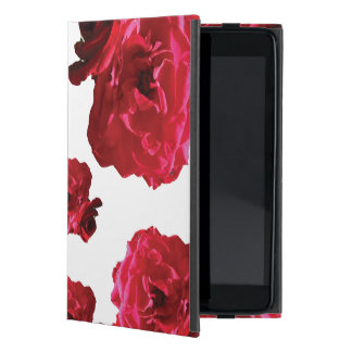 Red Rose iPad Mini Case with No Kickstand