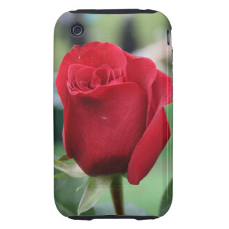 Red rose iPhone 3 tough covers