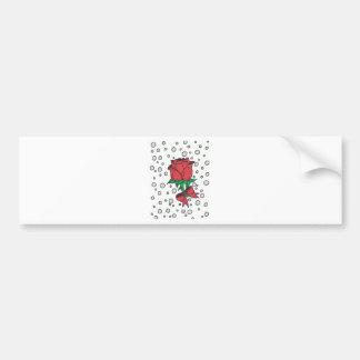 Red Rose.jpg Bumper Sticker