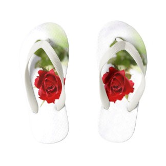 Red Rose Kid's Flip Flops