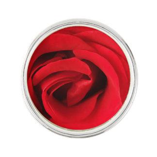 Red Rose Lapel Pin