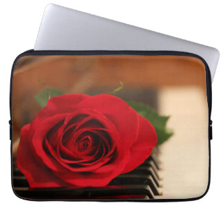 Red Rose Laptop Computer Sleeves