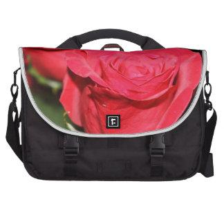 Red Rose Laptop Shoulder Bag