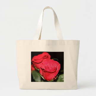 Red Rose Large Tote Bag
