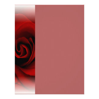 Red Rose Letterhead
