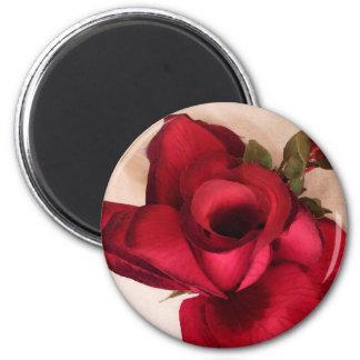 Red Rose-Love_ Magnet