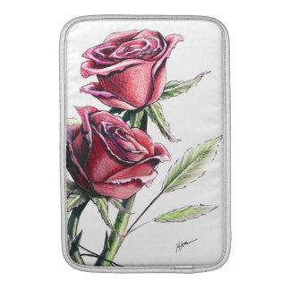 Red Rose MacBook Sleeve