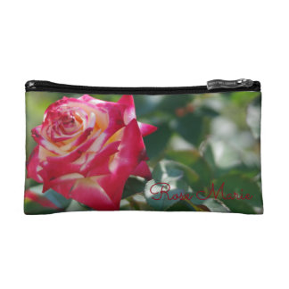 Red Rose Makeup Bag