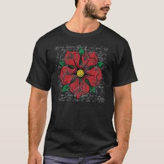 Red Rose Men's Dark Shirt
