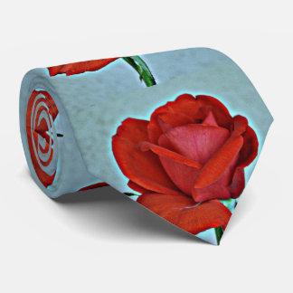 Red Rose Men's Tie