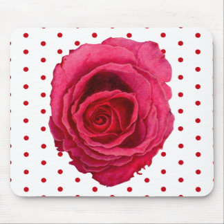 Red Rose Mousepad