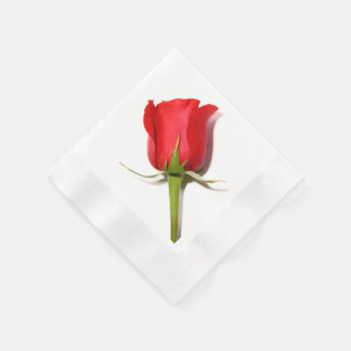 Red Rose Napkins Disposable Napkins