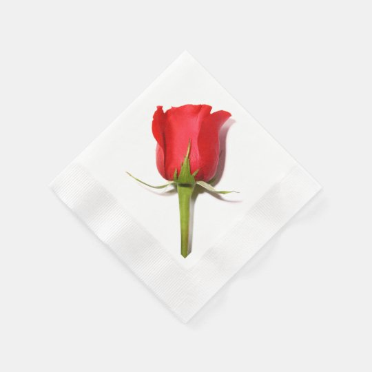 Red Rose Napkins Disposable Napkins