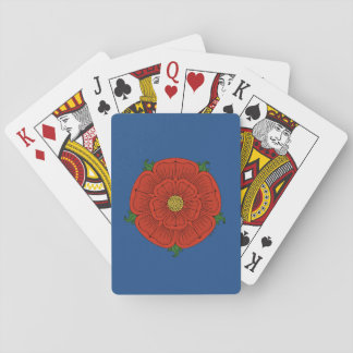 Red Rose of Lancaster Playing Cards