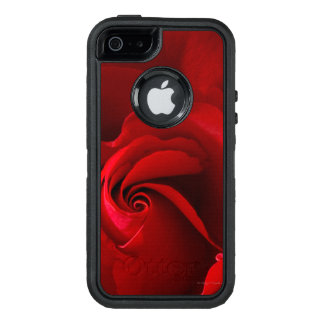Red Rose OtterBox Defender iPhone SE/5/5s Case