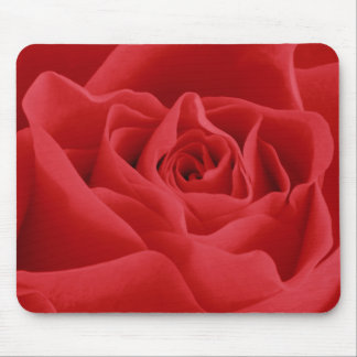 Red Rose Petals Mouse Pad