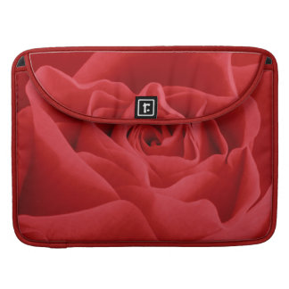 Red Rose Petals Sleeve For MacBook Pro
