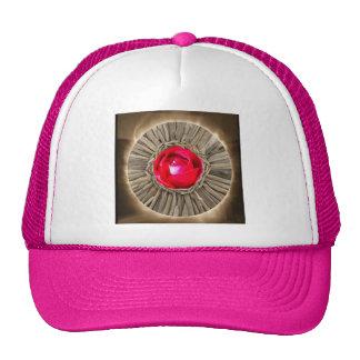 Red Rose Rustic Glow Trucker Hat