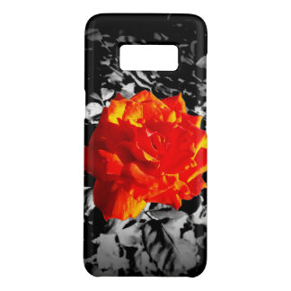 Red rose Samsung Galaxy Barely There Phone Case