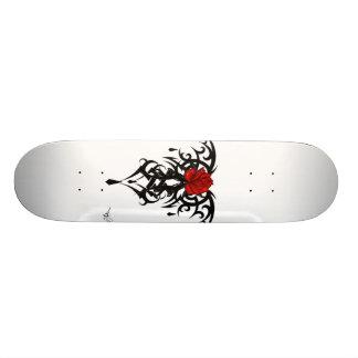 Red rose Skater Skate Deck
