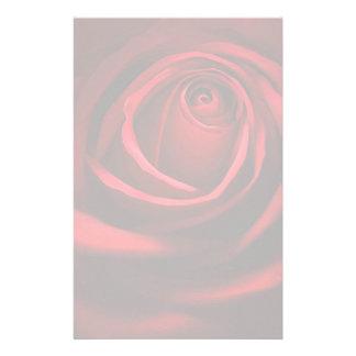 Red Rose Stationary Stationery Design