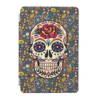 Red Rose Sugar Skull iPad Mini Cover