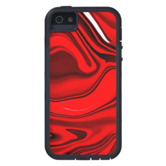 Red Rose Swirl Phone Case