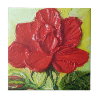 Red Rose Tile