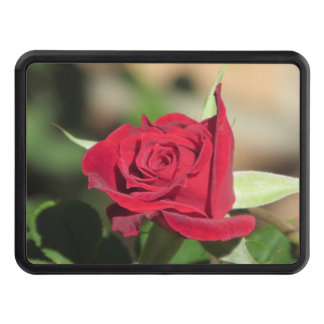 Red Rose Trailer Hitch Cover