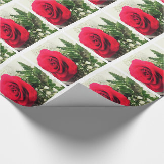 Red Rose WRAPPING PAPER