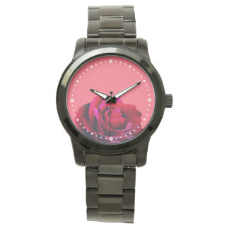Red Rose Wrist Watches