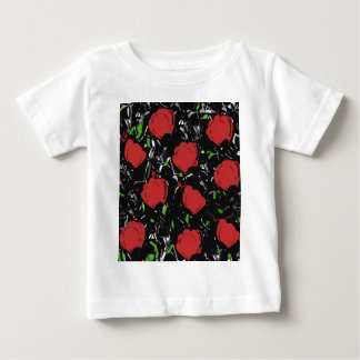 Red roses baby T-Shirt