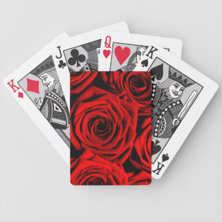 Red Roses Bicycle Playing Cards