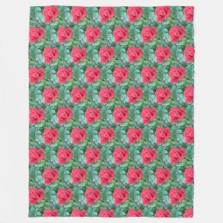 RED ROSES blanket
