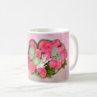 Red Roses Bouquet - Coffee Mug