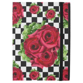"""Red Roses Bouquet Floral Love Rockabilly iPad Pro 12.9"""" Case"""