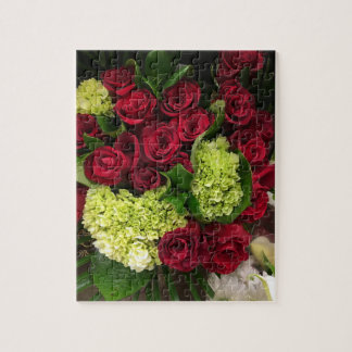 Red Roses Bouquet puzzle