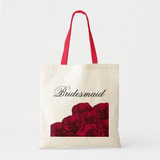 Red Roses Bridesmaid Bag