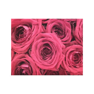 Red Roses canvas