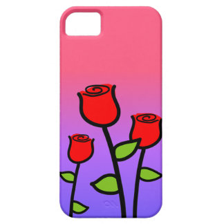Red Roses Case For The iPhone 5