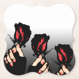 Red Roses Coasters