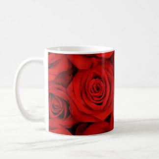 Red Roses Coffee Mug