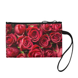 Red Roses Coin Purse