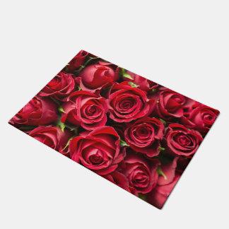 Red Roses Doormat
